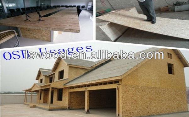 Waterproof osb for roof sheathing slab osb view slab osb for Green board exterior sheathing