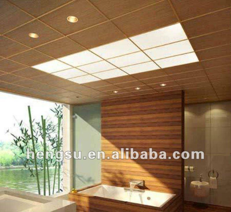 Pvc Wood False Ceiling New Generation Decorative Material