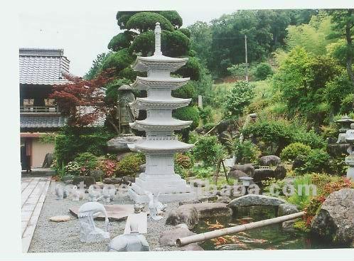 Natural Granite Hand Carved Japanese Garden Lantern - Buy Japanese ...