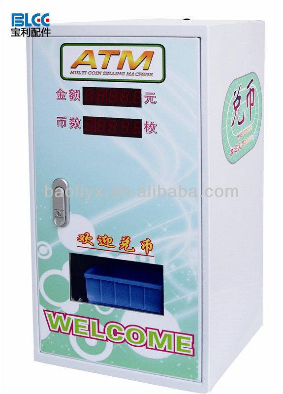 vending machine bill validator