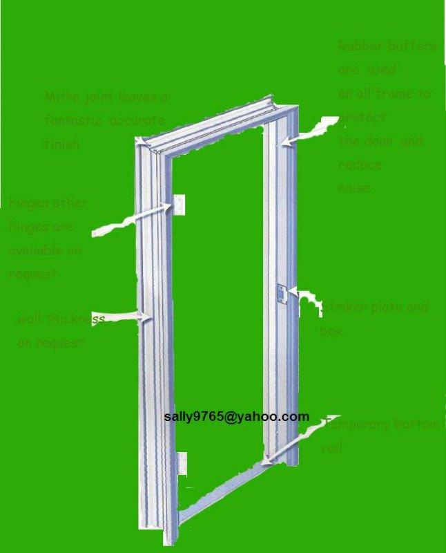 Metal door frames from window buy metal door frames for Door window company