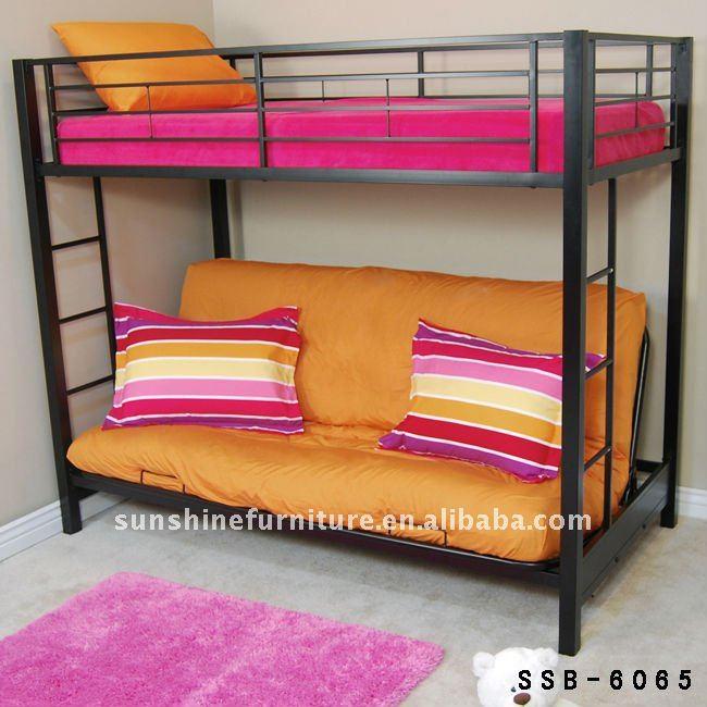 Mordern convertible metal bunk sofa beds buy metal bunk - Sofa litera ikea ...