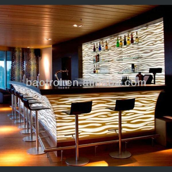 Nightclub Counter Illuminated Led Bar Counter Led Bar