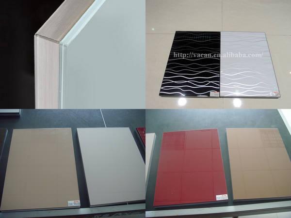 Modular laminate sheet kitchen cabinets acrylic veneer for Acrylic sheet for kitchen cabinets
