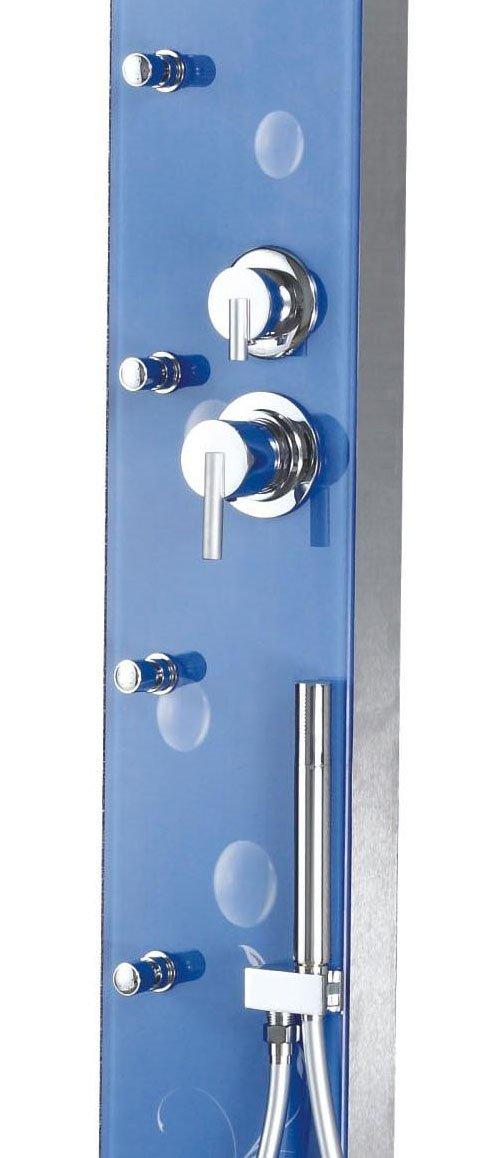 Sanitary Ware VERNET 8mm Tempered Glass Shower Panel