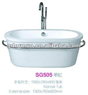 Bathroom free standing plastic bathtub sale buy plastic for Free standing bath tubs for sale
