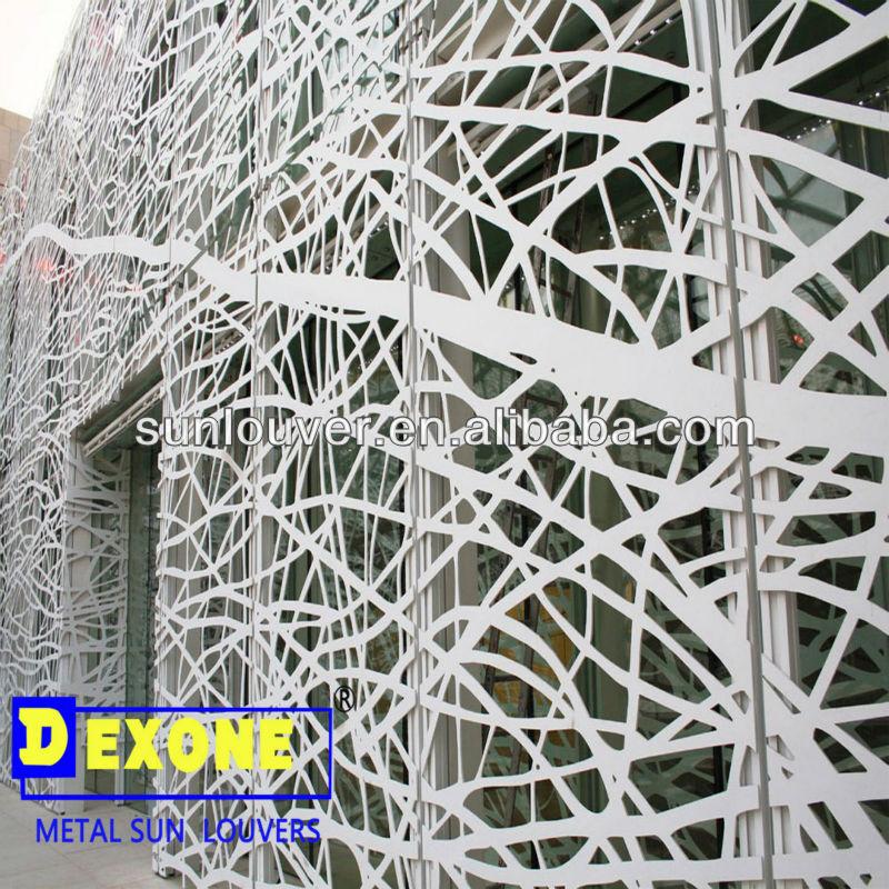 Cnc Aluminum Decorative Wall Panel For Metal Curtain Wall ...