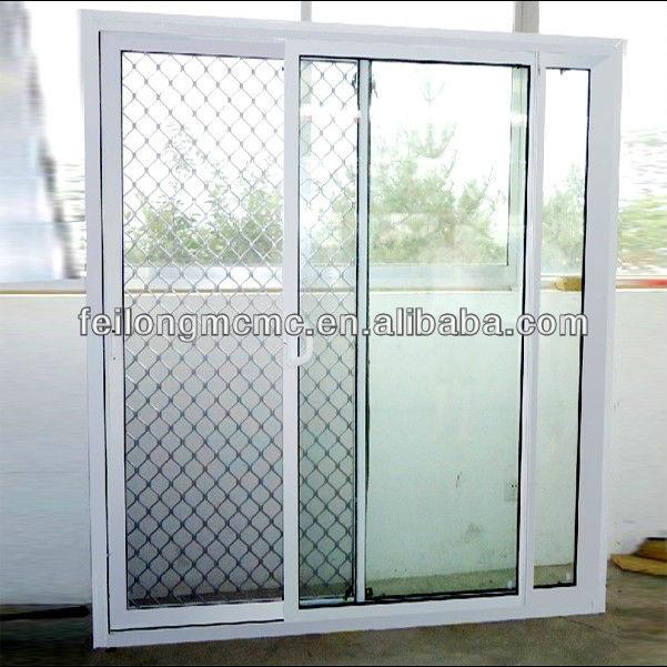 Aluminium door security mesh of sliding door view doors for Mesh for windows and doors