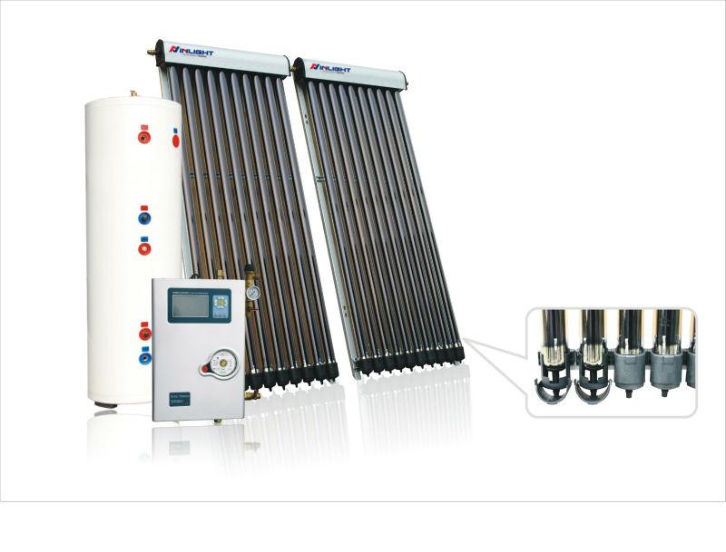 200liters Copper Heat Pipe Split Solar Water Heater View