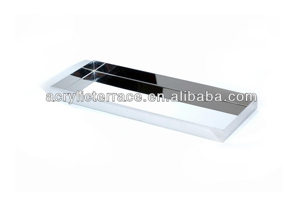 Bathroom accessories acrylic hotel amenity tray for Bathroom accessories tray