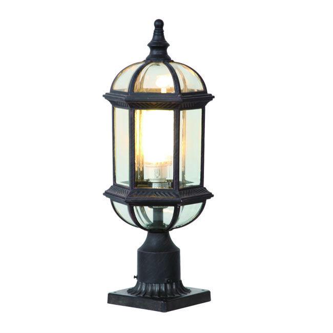 Outdoor Lamp Post Australia: Outdoor Solar Gate Post Pillar Light (st5271-s)