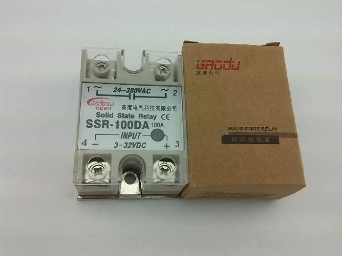 ssr 100da control 3 32v dc output 24 380v ac single phase ssr ssr 100da control 3 32v dc output 24 380v ac single phase