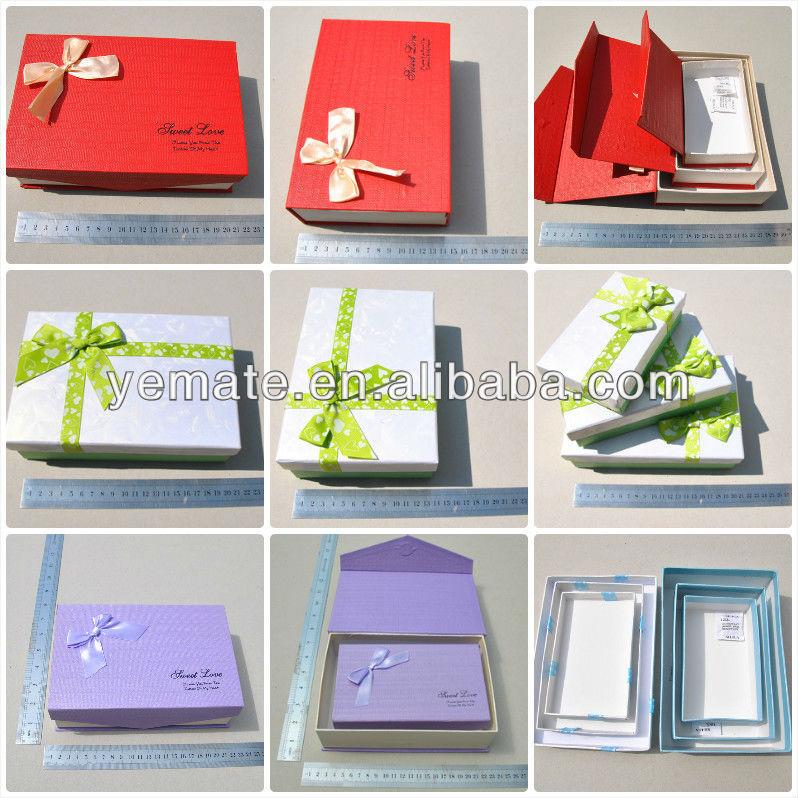 Chocolate box paper red custom empty heart chocolate packaging ...