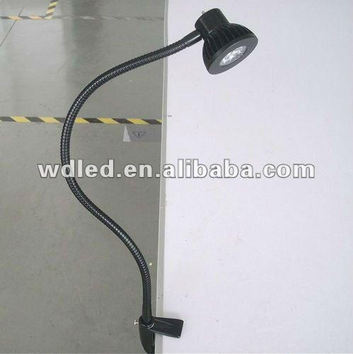 Workbench led flexible pipe light clamp