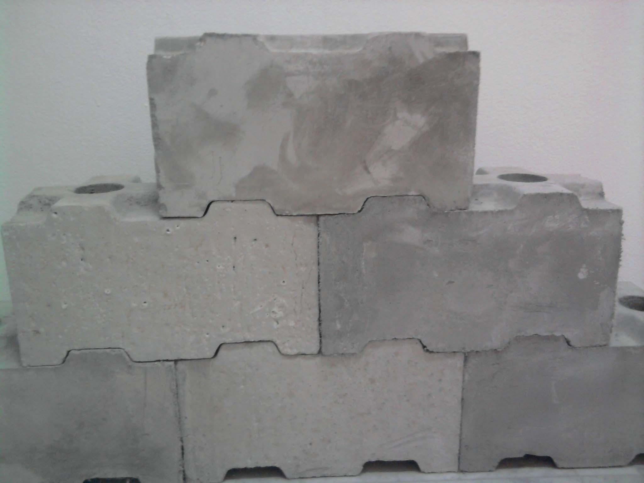 Interra Cellular Lightweight Concrete : Interlocking cellular lightweight concrete blocks molds