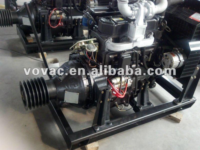 stationary diesel engine with clutch for irrigation pump. Black Bedroom Furniture Sets. Home Design Ideas