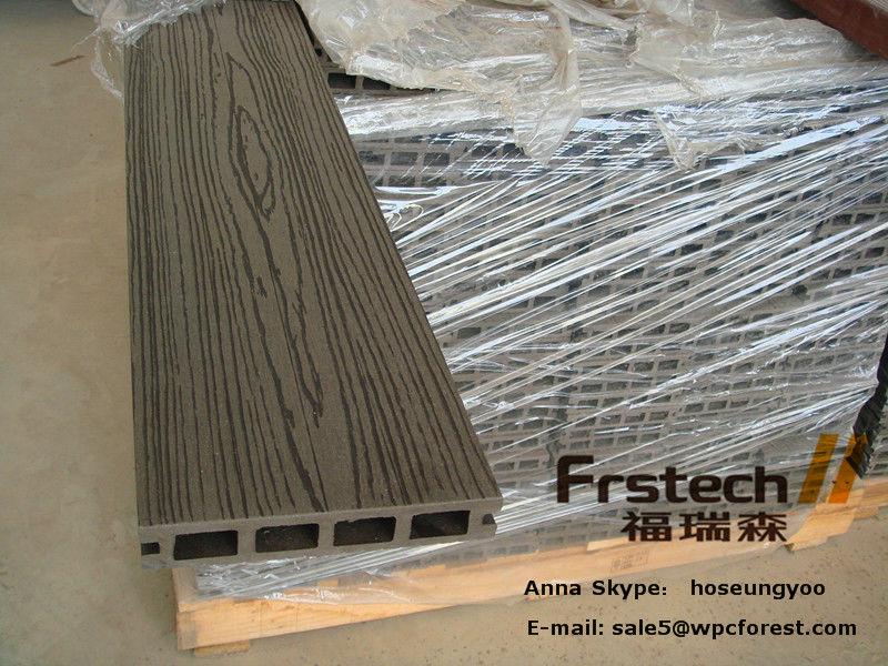 Anti Slip Decking Composite : Mm waterproof thermowood decking interlocking