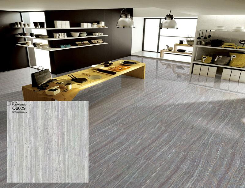 White galaxy floor tiles