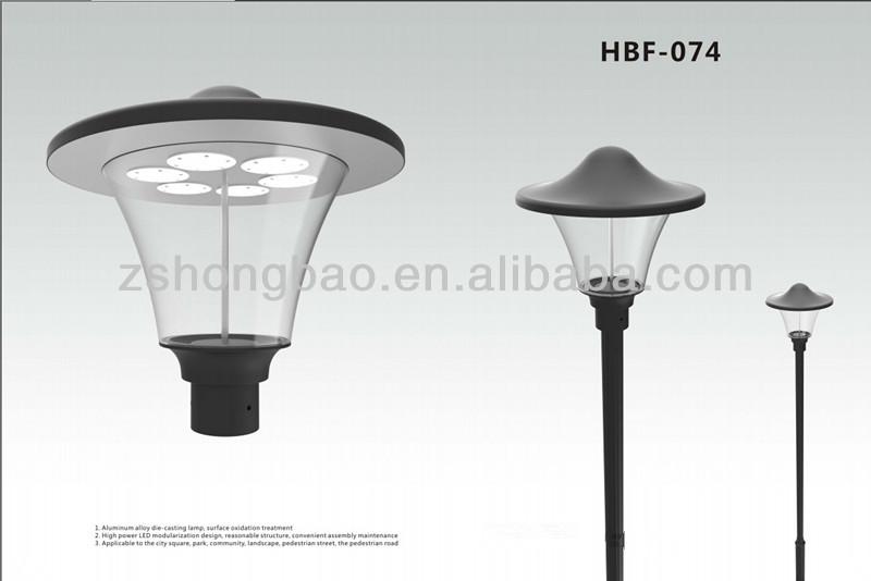 garden led lights. Aluminium Anodized Black Color LED Garden Light Housing Approved CE ROHS (HB-035- Led Lights