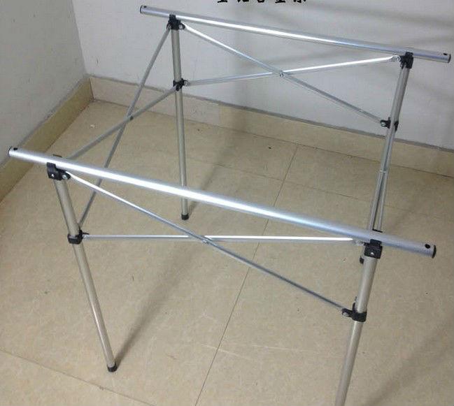 Portable compact aluminium folding picnic table for - Table composite aluminium ...