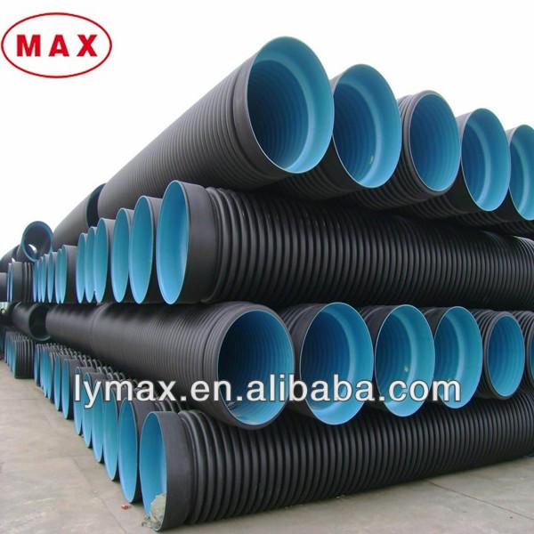Flexible Corrugated Plastic Pipe : Hot sale plastic corrugated culvert pipes buy