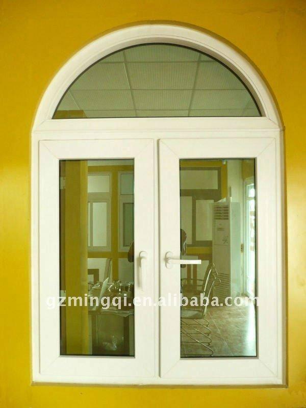 Pvc half round windows view half round windows mq for Window design round