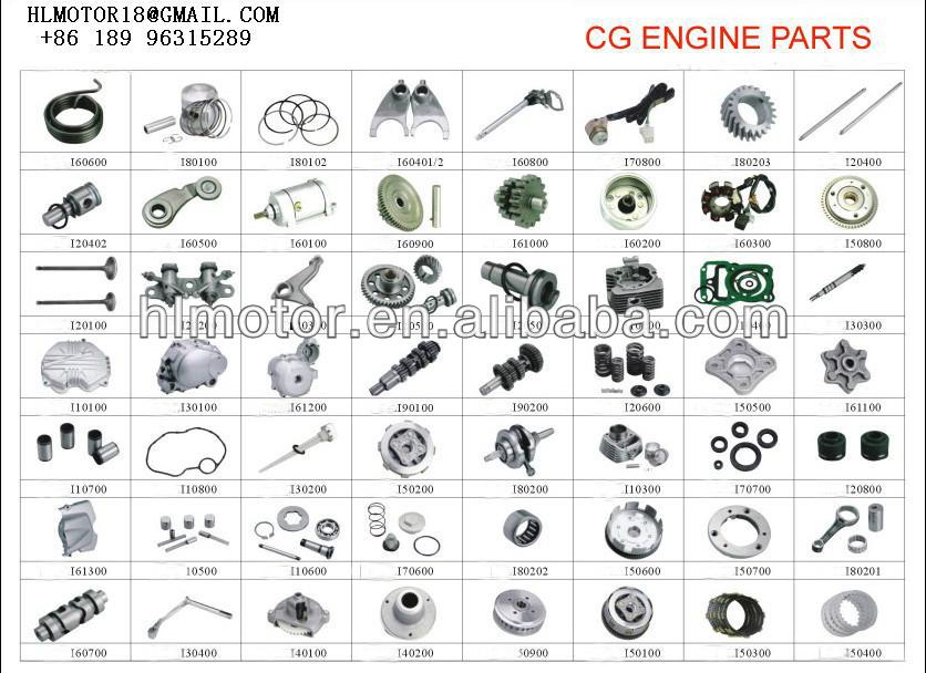 125cc 150cc cg150 spare parts engine motorcycle engine