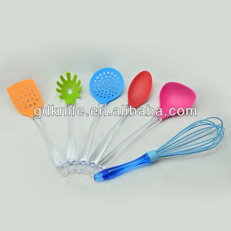6pcs color kitchen utensils set kitchenware color kitchen for Kitchen tool 6pcs set