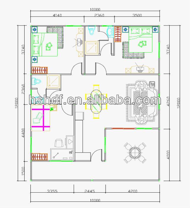 120m2 homes design