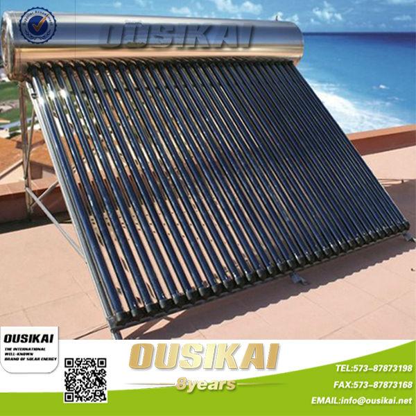 Acogio con beneplacito en mexico no presurizado del - Agua caliente solar ...