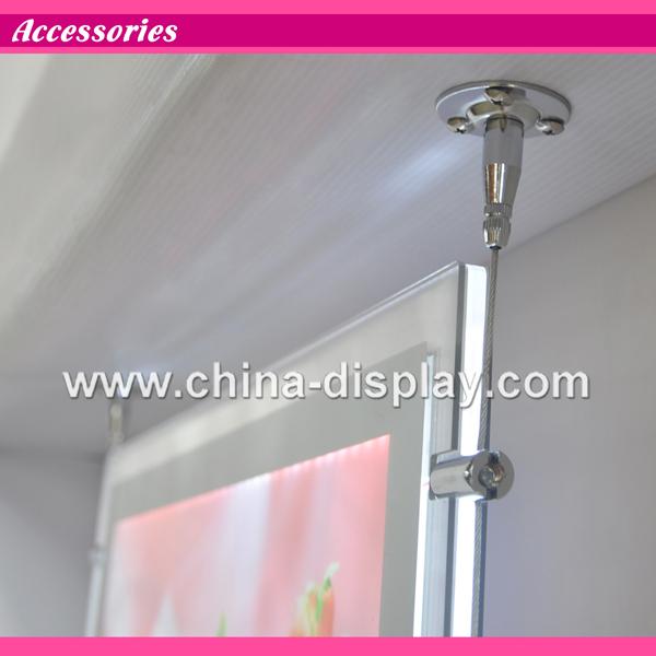 Acrylic Box To Hang On Wall : Led back lit wall acrylic display hanging light
