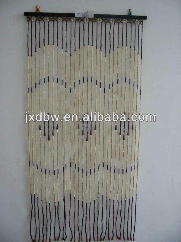 Decorative Wood And Bamboo Beaded Door Curtain Buy