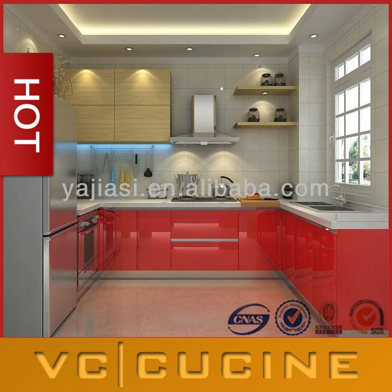 American Style MDF Modular Kitchen Cabinet Designs