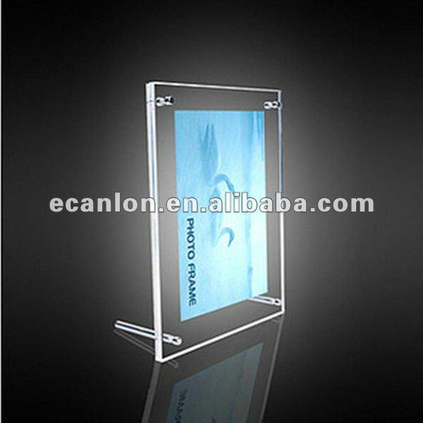 plexiglass led photo frame buy led photo frame perspex photo frame plexiglass photo frame. Black Bedroom Furniture Sets. Home Design Ideas