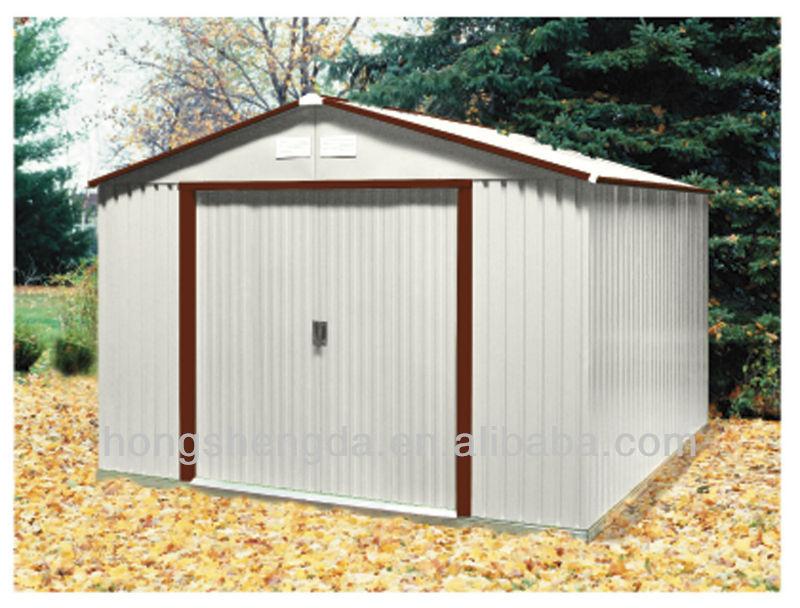 Portable outdoor metal garden sheds storage sheds china for Portable outside storage sheds