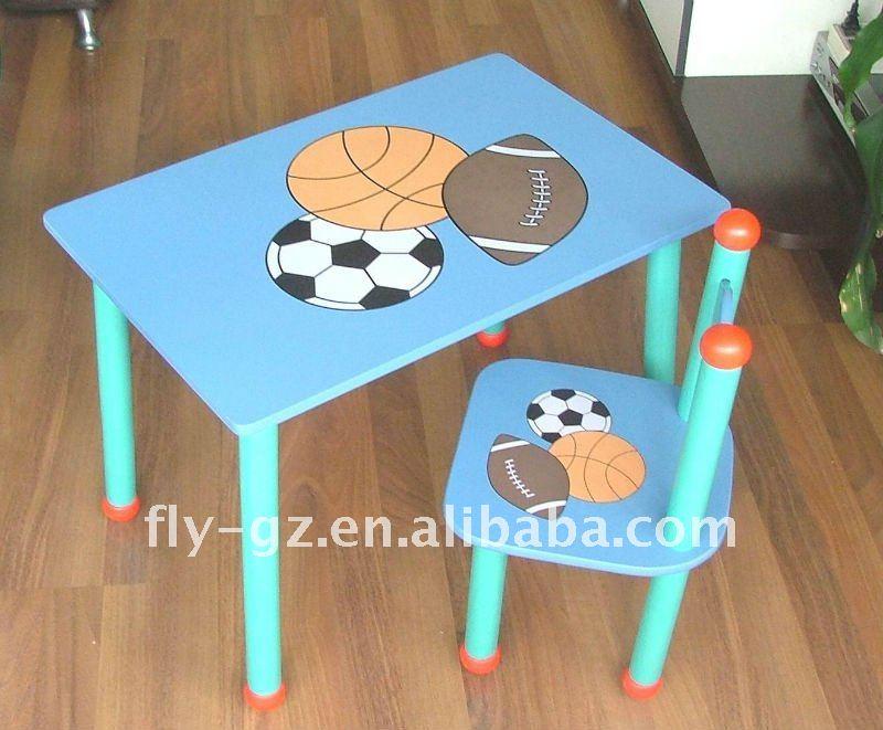 Kids Study Table Chair/kids Table And Chair Set/wood Kids ...