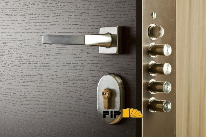 Armoured Steel Door Security Door Italian Design Entry