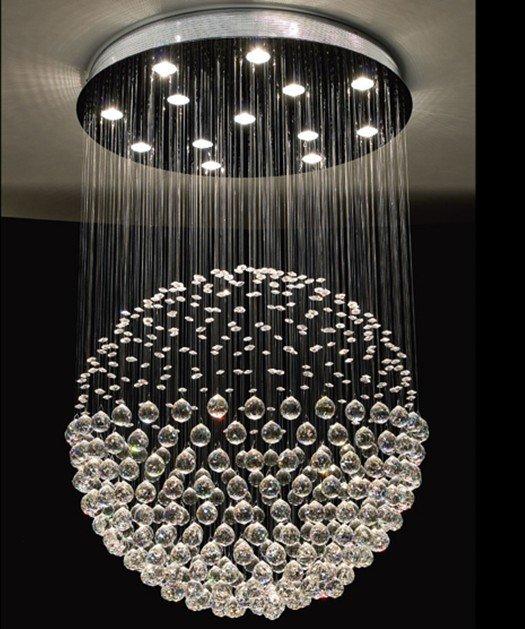 Ball Modern Crystal Ceiling Lamp Zy 28385 Buy Modern