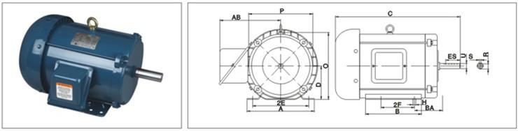 Nema High Efficiency Epact Standard Three Phase Ac