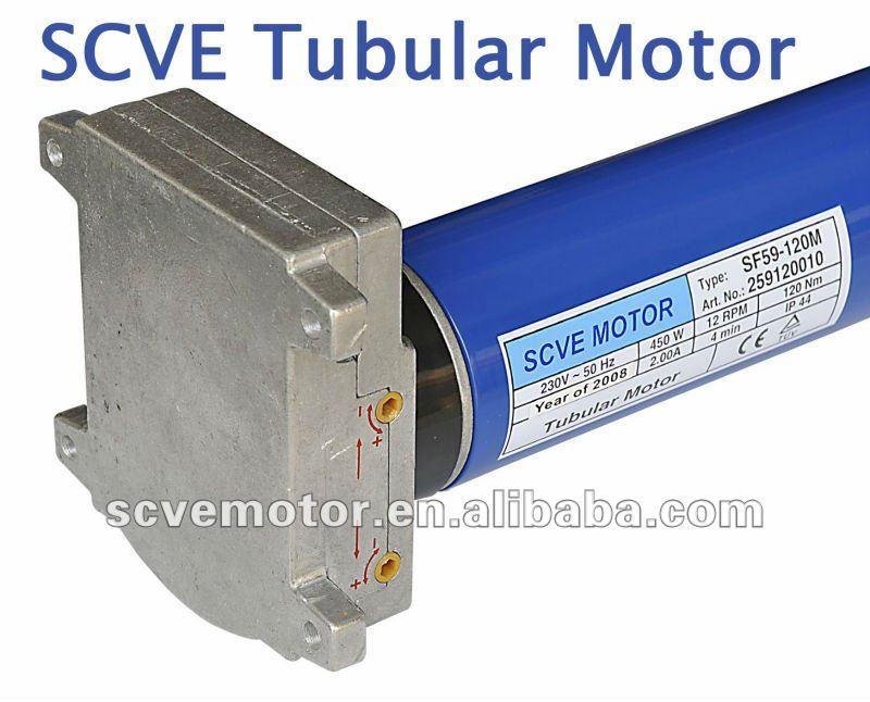 Tubular motortubular motor for roller shutterelectric for Roller shutter electric motors