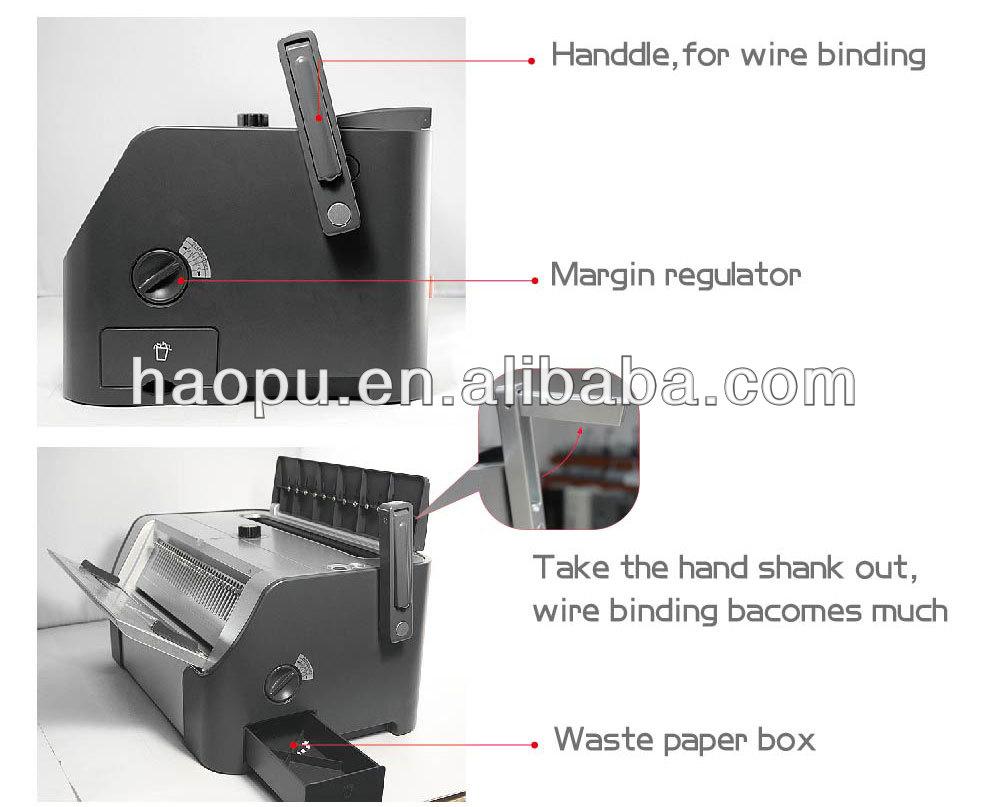 wire coil binding machine