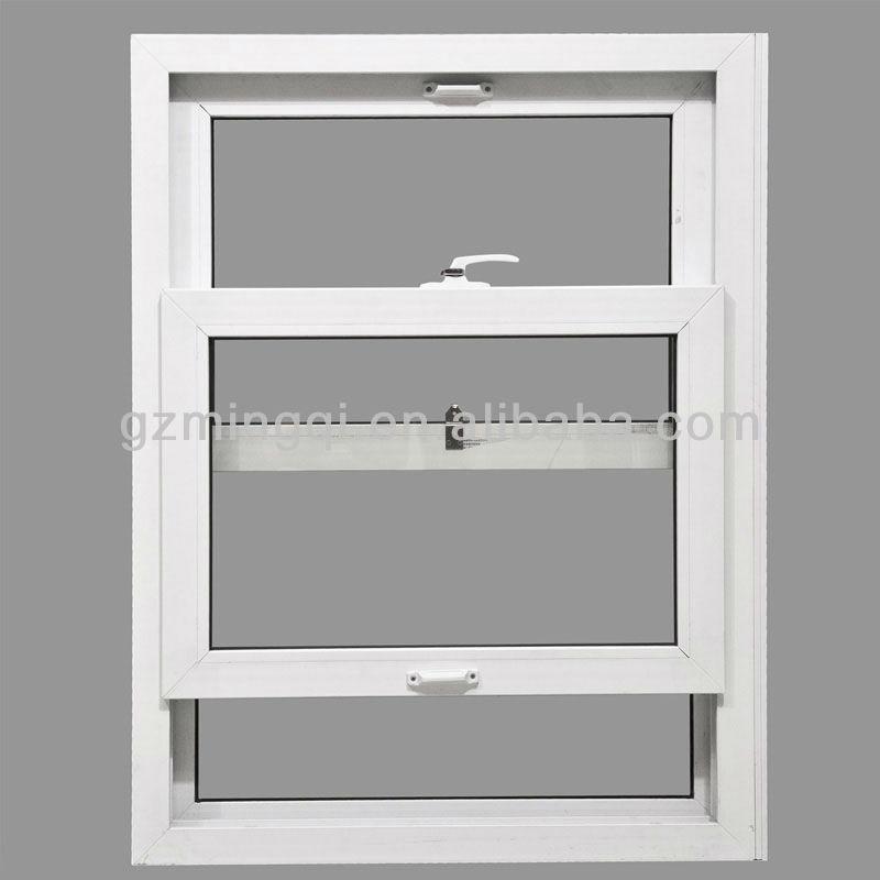 Aluminium Sash Windows : Double glass aluminum sash windows with transom