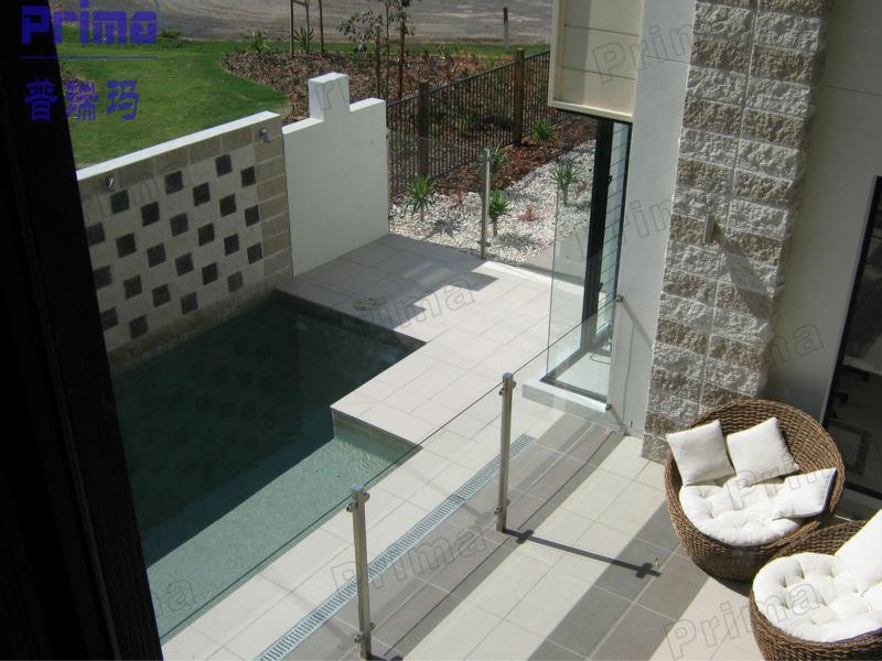 Customized Stainless Steel Balcony Railling Prefab Metal