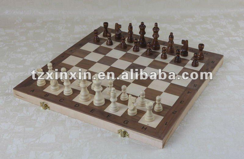 Multi board games box wooden 3 in 1 chess checker game box view multi board games box jin guan - Multilevel chess ...