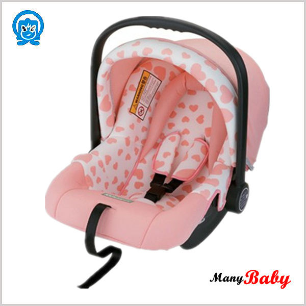 Comforable infant car seat