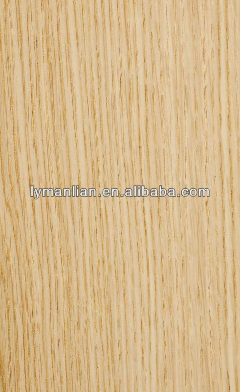 Natural quarter cut white oak veneer view