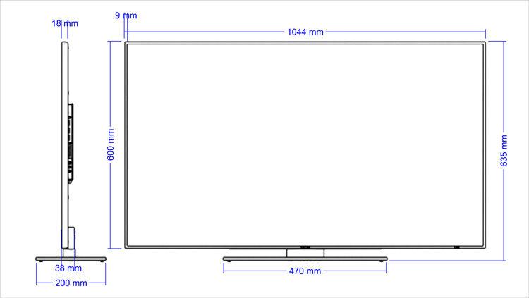 Swedx 46 Quot Super Slim Full Hd 120hz Led Tv Buy Led Tv Led