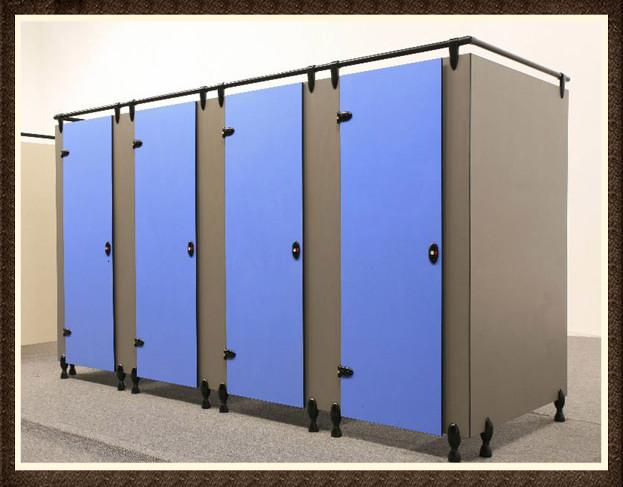 Bathroom Partition Wall Set hpl toilet cubicle/office toilet cubicle partition with metal