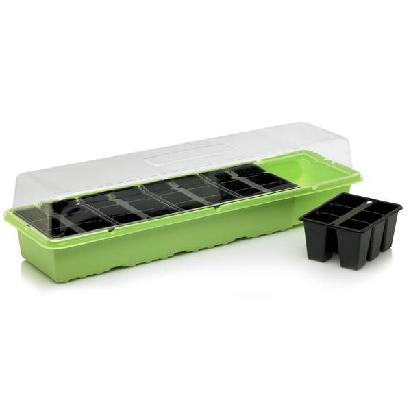 propagator windowsill seed tray plug trays lid plant seeds indoor plant tray buy windowsill. Black Bedroom Furniture Sets. Home Design Ideas