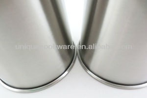 16oz 18/8 Food-grade Reusable Stainless Steel Pint Glass